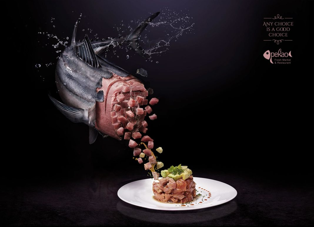 تبلیغ رستوران Pekao