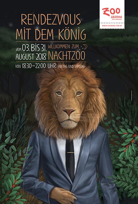 کمپینبازاریابی برای شبهای باغوحش سالزبورگ
