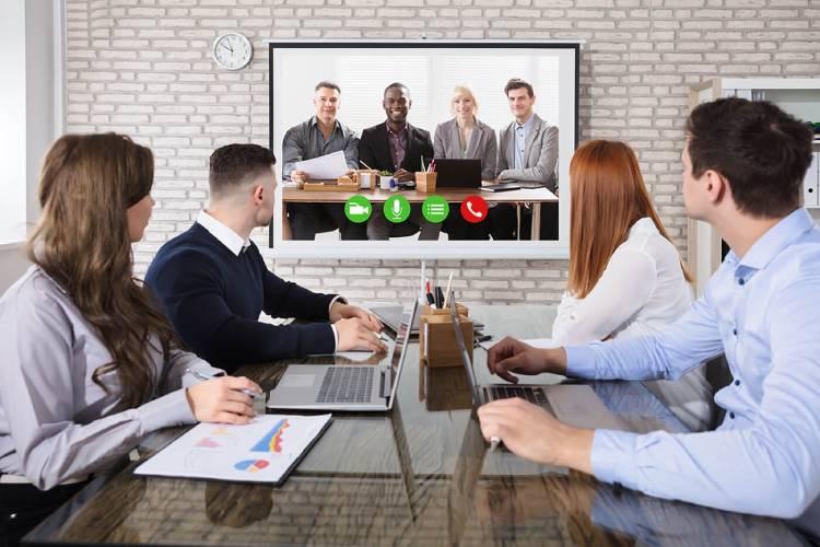 کار تیمی مجازی