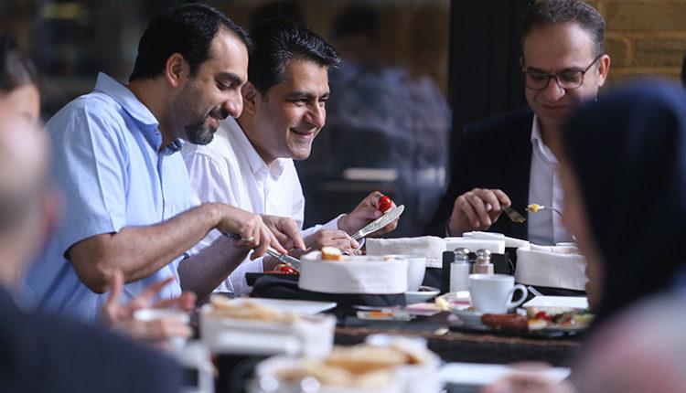 صبحانه در رویداد نون بربری